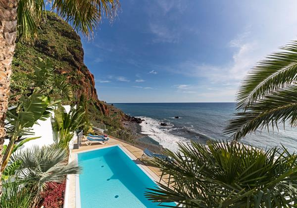 Our Madeira Villas in Madeira by the Beach Villa Do Mar 2 Pool And View