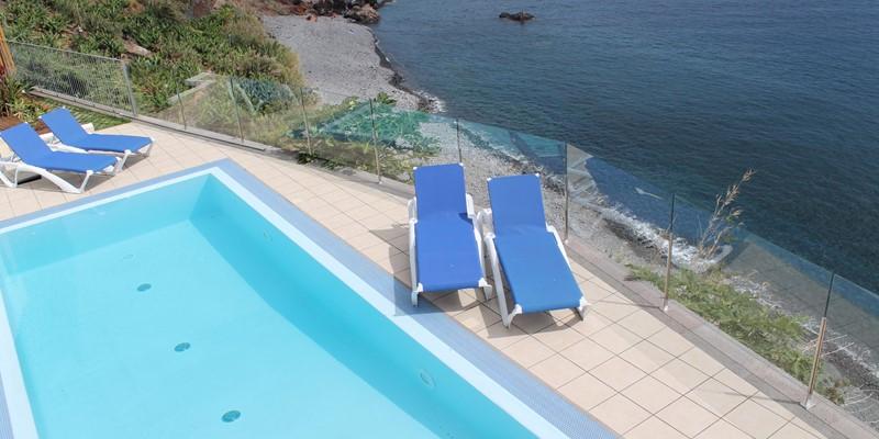 27 Our Madeira Villa Do Mar II Pool And Pebble Beach 2
