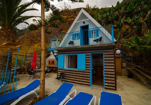 Our Madeira Villas Do Mar Beach Cabana Exterior