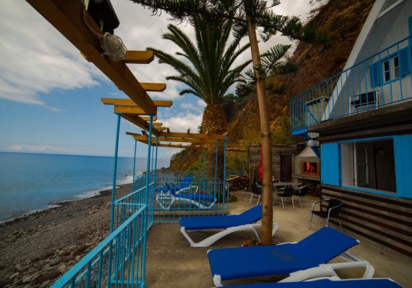 Our Madeira Villas Do Mar Beach Cabana