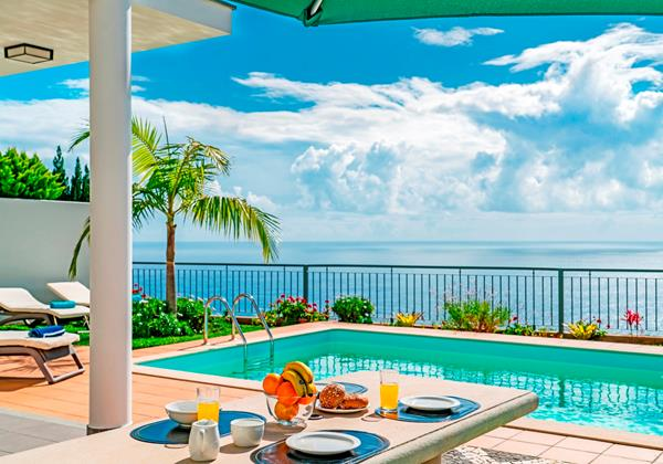2 Our Madeira Casa Amaro Mar Pool And View