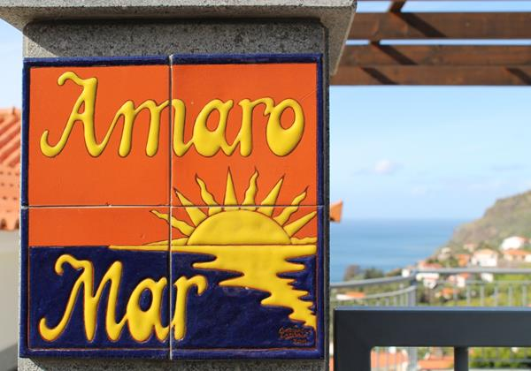 26 Our Madeira Casa Amaro Mar Sign