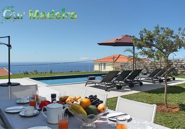 Our Madeira Villas In Madeira With Sea View Calheta Heights