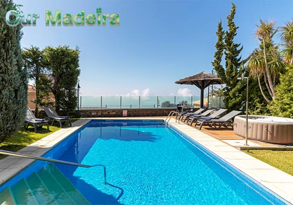 Our Madeira Villas In Madeira Criss Home By Ourmadeira Pool