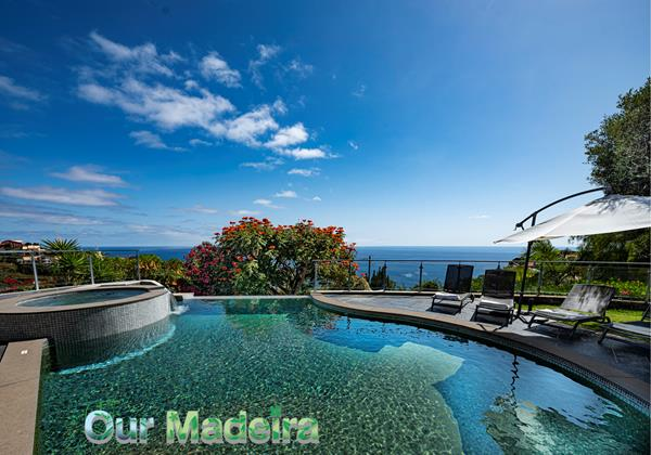 Our Madeira Villas In Madeira With Heated Swimming Pool Quinta Girassol By Ourmadeira