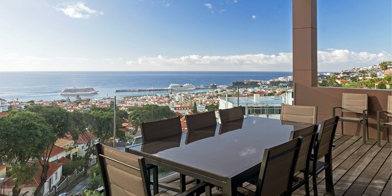 Our Madeira Villas In Madeira Skylounge By Ourmadeira View