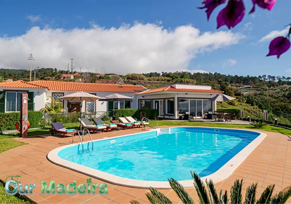 Our Madeira Villas In Madeira Theos House By Ourmadeira Pool