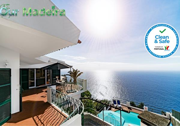 Our Madeira Villas In Madeira Villa Aquarela By Ourmadeira