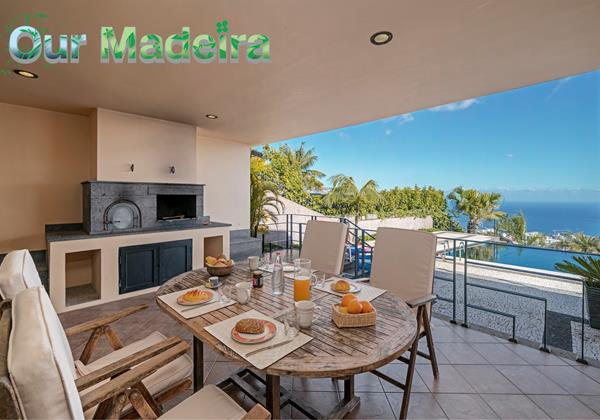 Ourmadeira Villas In Madeira With Barbecue Villa Luz By Ourmadeira