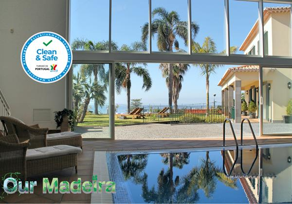 Our Madeira Luxury Villas In Madeira Villa Luzia By Ourmadeira