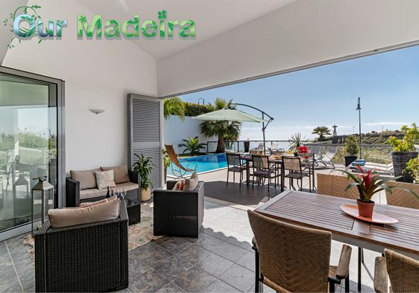 Ourmadeira Villas In Madeira With Heated Pool Villa Sol E Mar By Ourmadeira