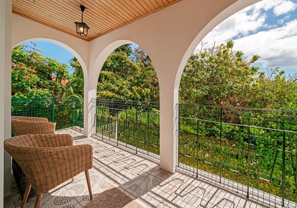 OurMadeira Villas in Madeira - Villa Amelia Porch