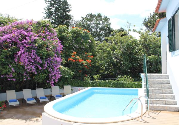 2 Our Madeira Villa Amelia Pool 2