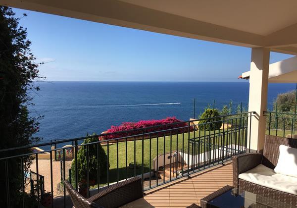 13 Our Madeira Villa Albatroz Balcony