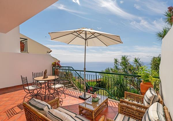 Ourmadeira Villas In Madeira Moradia Falesia Front Terrace And Garden