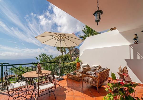 Ourmadeira Villas In Madeira Moradia Falesia Front Terrace