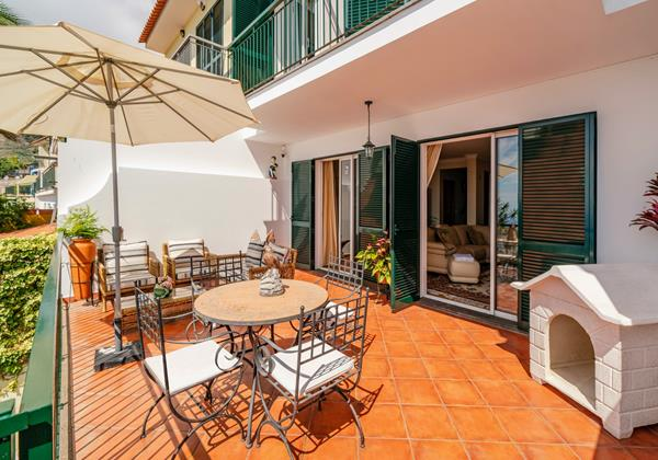 Ourmadeira Villas In Madeira Moradia Falesia Front Terrrace And Lounge