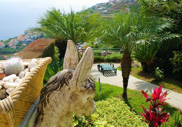 Ourmadeira Villas In Madeira Moradia Falesia Garden And Statue
