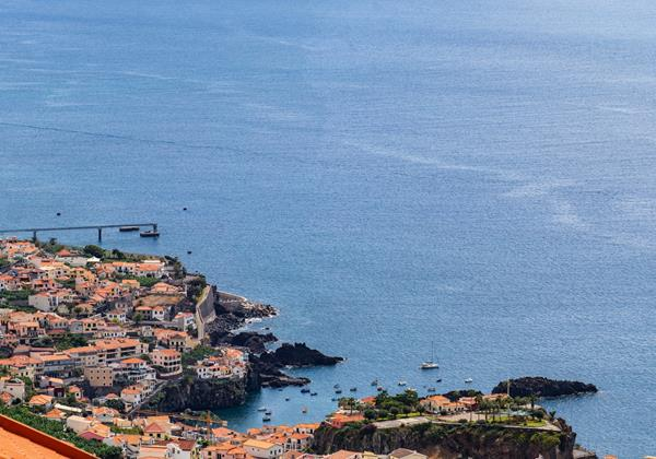 Ourmadeira Villas In Madeira Moradia Falesia Rooftop Terrace View