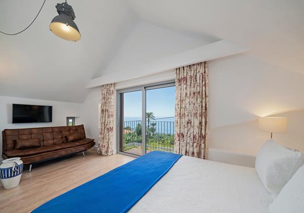 Ourmadeira Villas In Madeira Villa Do Mar IV Bedroom 1 View