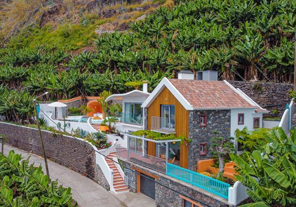 Ourmadeira Villas In Madeira Villa Do Mar IV Exterior And Garage