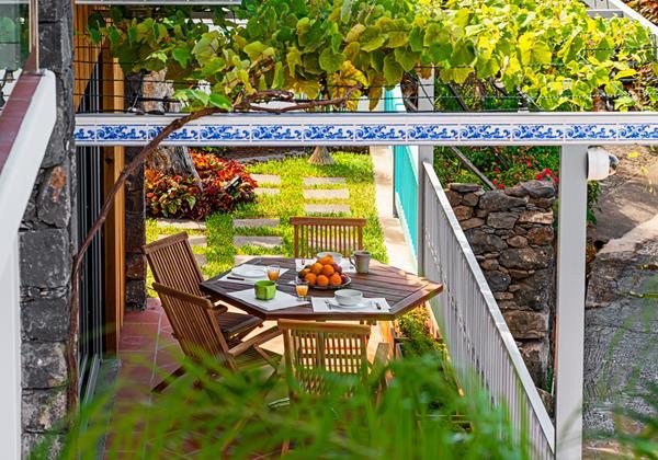 Ourmadeira Villas In Madeira Villa Do Mar IV Outdoor Dining