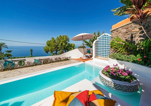 Ourmadeira Villas In Madeira Villa Do Mar IV Pool