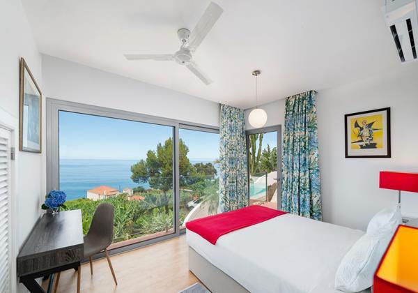 Ourmadeira Villas In Madeira Villa Do Mar IV Bedroom 2 View