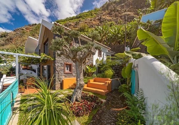Ourmadeira Villas In Madeira Villa Do Mar IV Extarior And Veranda