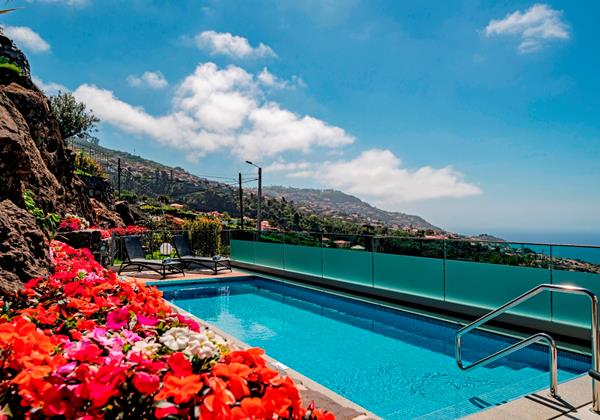 Ourmadeira Villas In Madeira Grandview Pool And View
