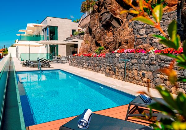 Ourmadeira Villas In Madeira Grandview Pool and Exterior