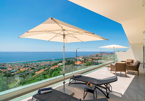 Ourmadeira Villas In Madeira Grandview Terrace and View