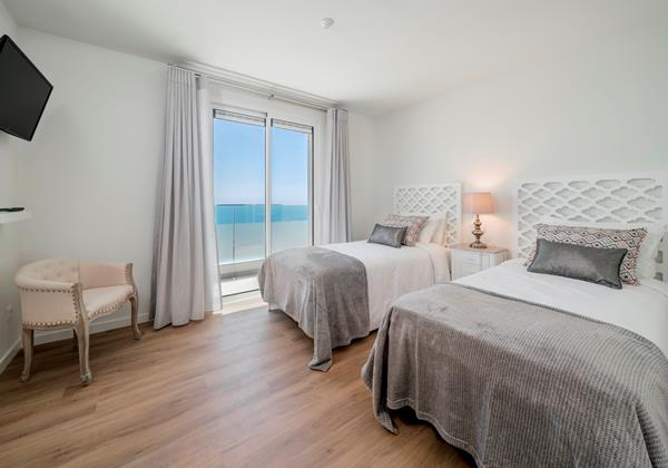 Ourmadeira Villas In Madeira Grandview Twin Bedroom