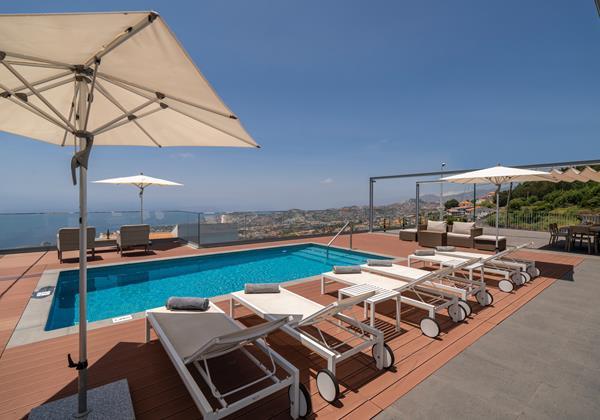 Ourmadeira Villas In Madeira Vila Da Portada Pool