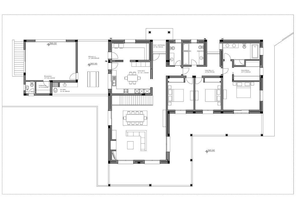 MHRD Bellevue Villa Plans GF
