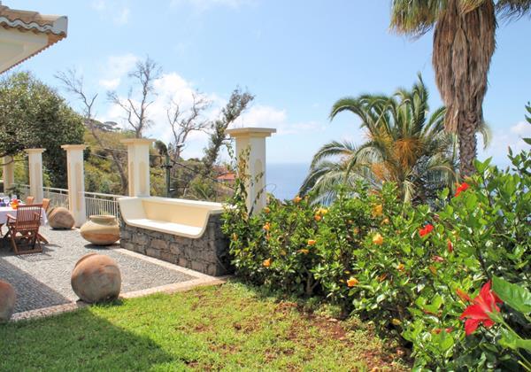 3 MHRD Casa Das Neves Ext Garden Front Terrace View 2