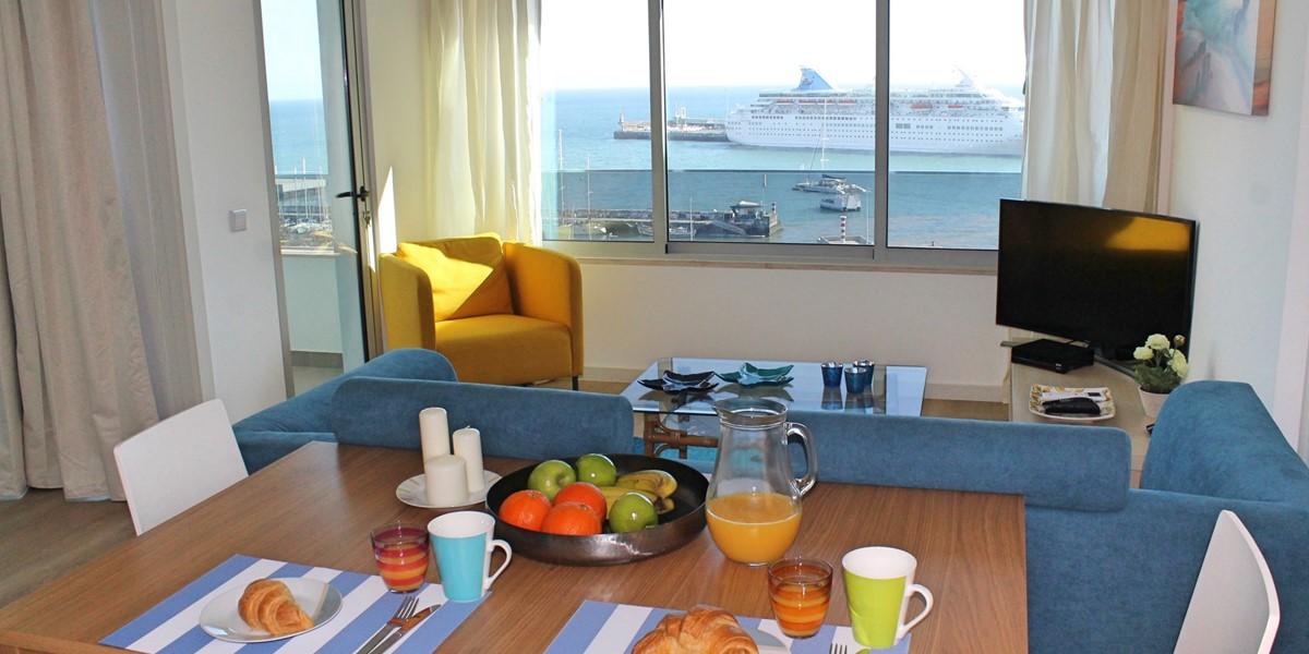 1 Petronella Marina Apartment Living Area 3
