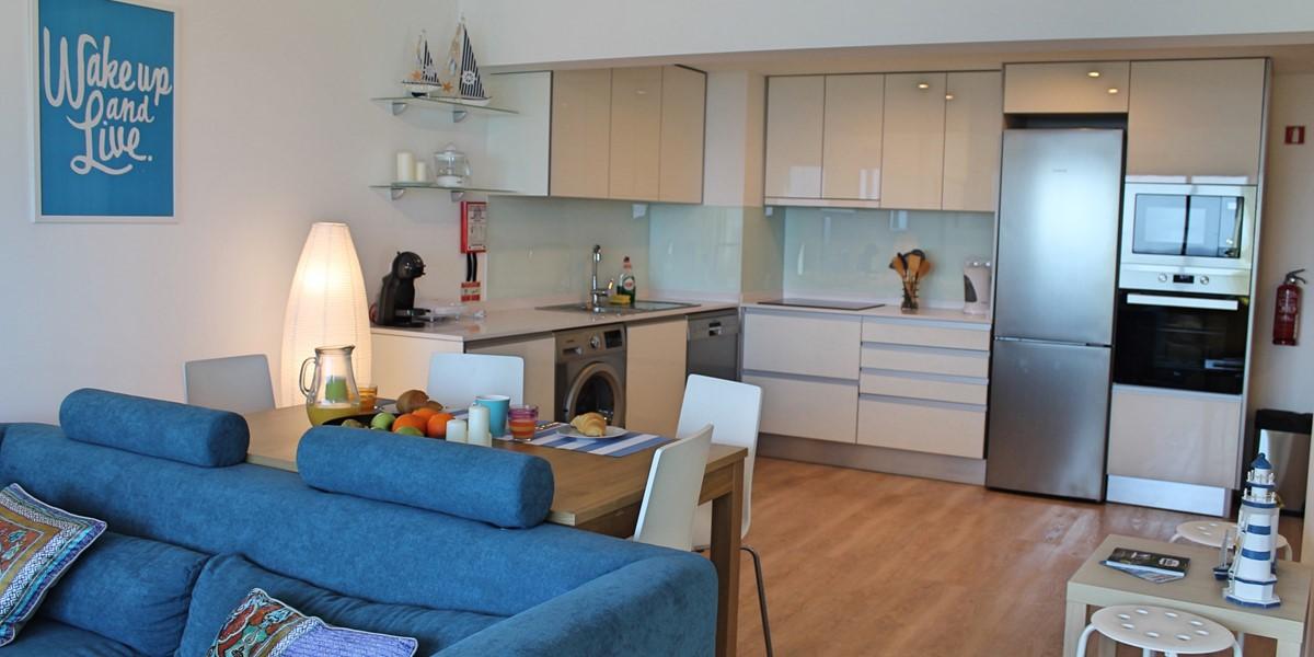 3 Petronella Marina Apartment Living Area And Kitchen