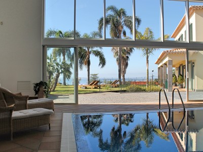 Height of luxury, stunning spacious villa with large indoor pool | Villa Luzia
