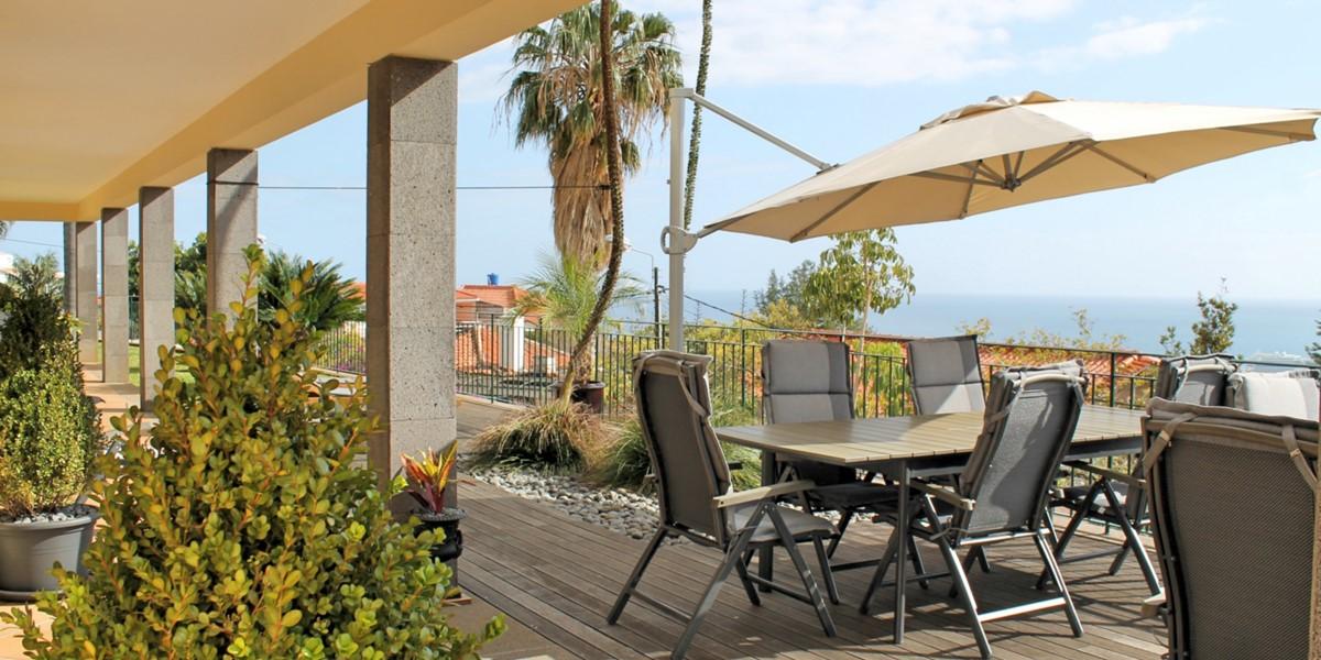 5 MHRD Villa Luzia Front Terrace Sea View
