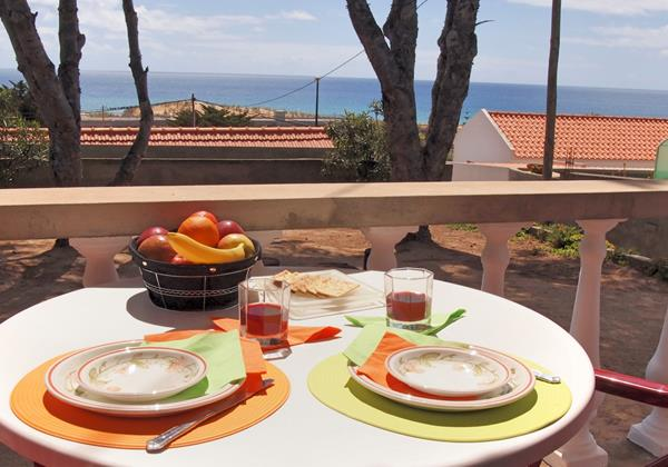 24 MHRD Villa Mary Breakfast With Sea View