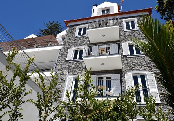 Our Madeira - Apartments in Madeira - Babosas Village Exterior Front Balconies