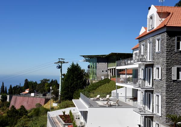 Our Madeira - Apartments in Madeira - Babosas Village Exterior Side