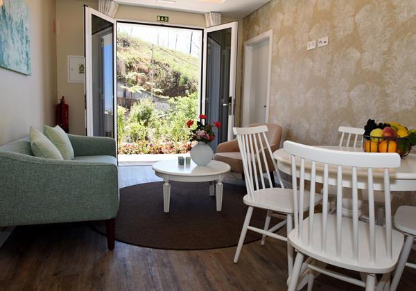 Our Madeira - Apartments in Madeira - Babosas Village Garden Apartment Living Room 2