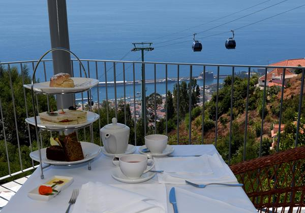 Our Madeira - Apartments in Madeira - Babosas Village Terrace And Afternoon Tea
