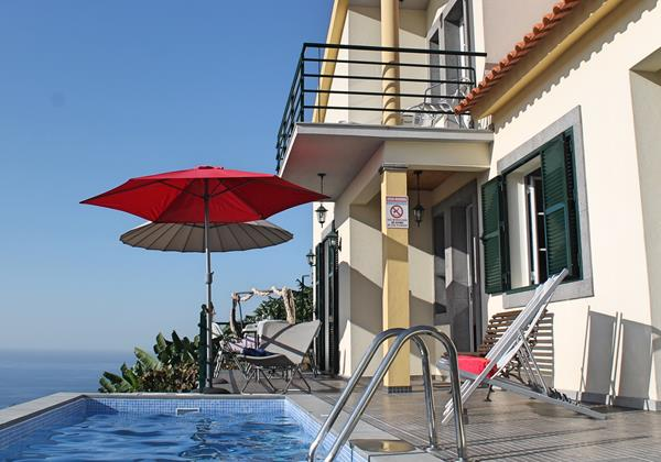 Our Madeira - Villas in Madeira with Infinity Pool -  Casa Jardim Mar