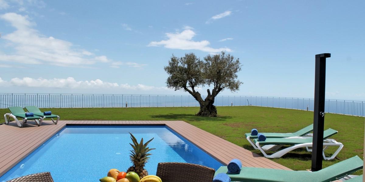 3 Our Madeira Bellevue Villa Pool