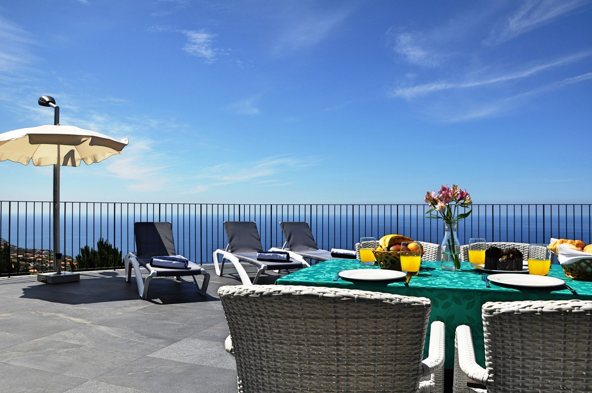 3 Our Madeira Eden Nature Outdoor Dining And View
