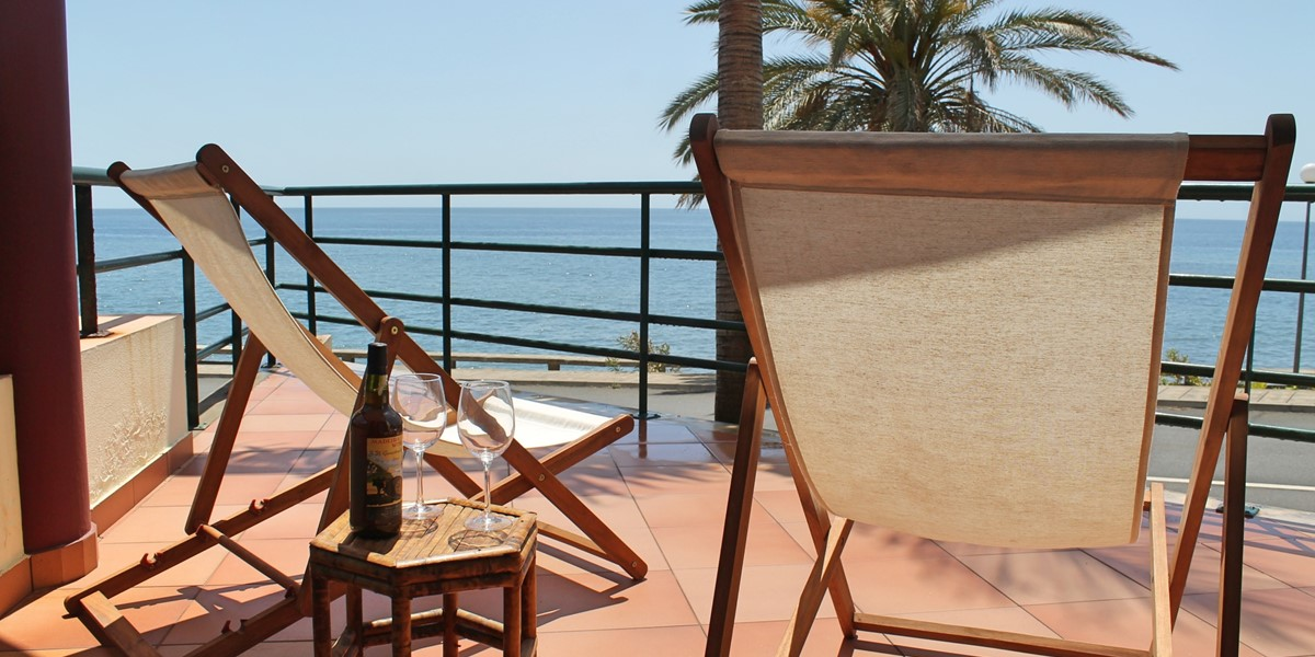 1 Our Madeira Atlantic View Balcony And View