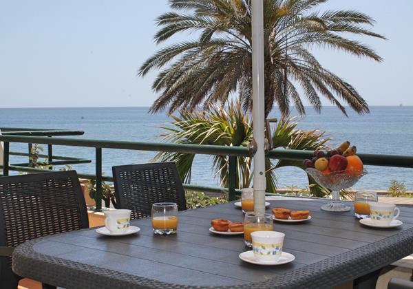2 Our Madeira Atlantic View Balcony Outdoor Dining View